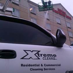 commercial building wash cleaning